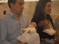 Bautizo Jimena y Pablo 13-10-12