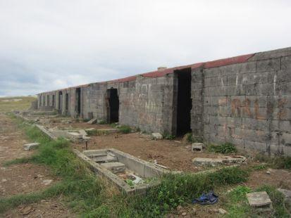 Zona norte de la ciudad de Santander, abandonada y dejada
