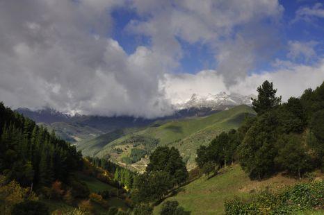 panoramica de picos