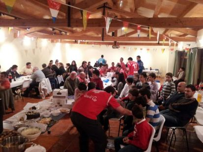 Cena de navidad VALLE LEBANIEGO 2012