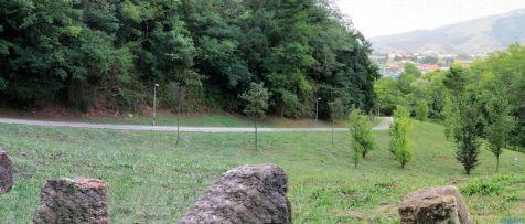 Descenso de Reocin, parque de la Viesca