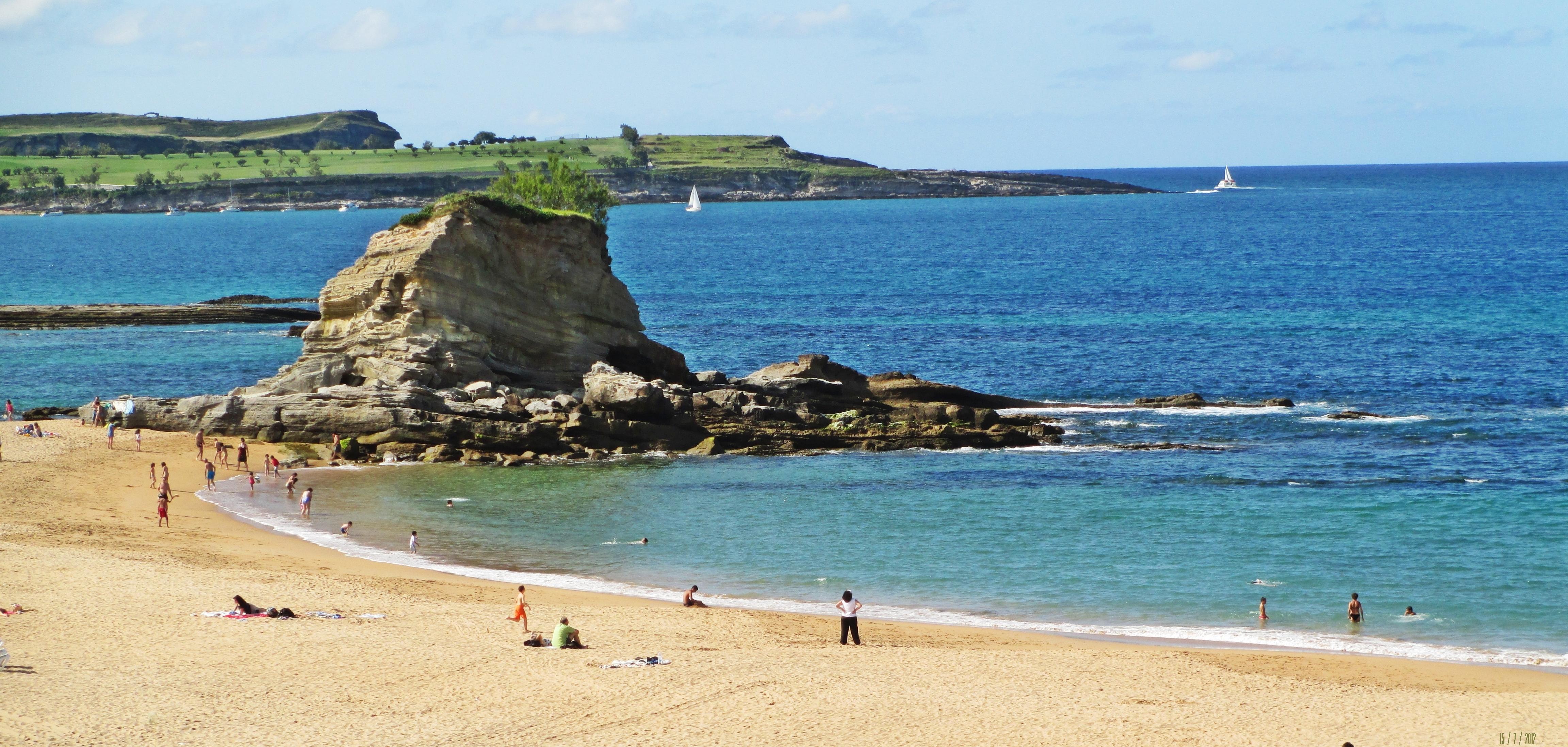 El Sardinero  fotos de Playas de Cantabria