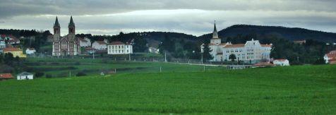 Cobreces, parroquia, antiguas escuelas y convento
