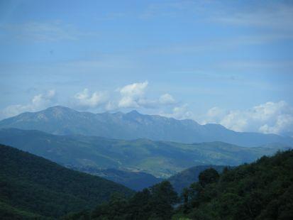 vista de los picos