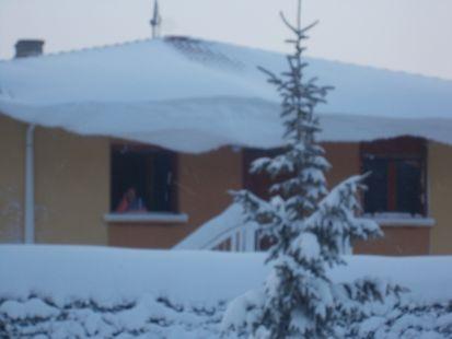 40 cm de nieve y subiendo
