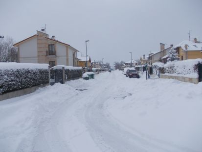 30 cm de nieve y subiendo