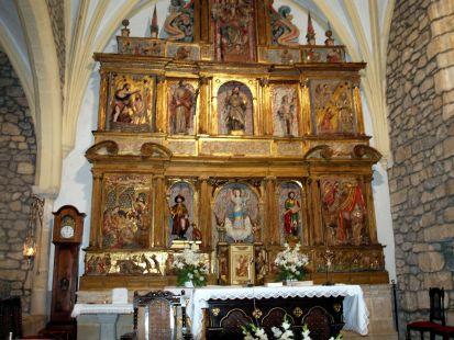 Iglesia de Hoznayo - altar.