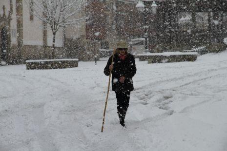 Pasiega por la nieve