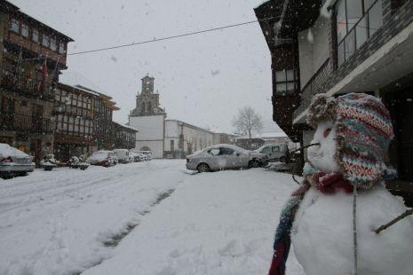 Muñeco de Nieve en Vega de Pas