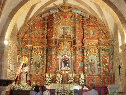 Udias, Virgen del Mozucu, retablo