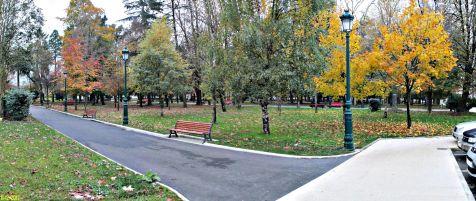 Entrada al Parque M.Barquin