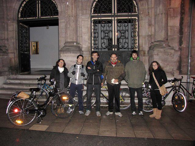 Masa critica Torrelavega con Cantabria con bici