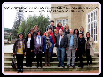 XXV PROMOCION DE LA SALLE - LOS CORRALES DE BUELNA ADMINISTRATIVO