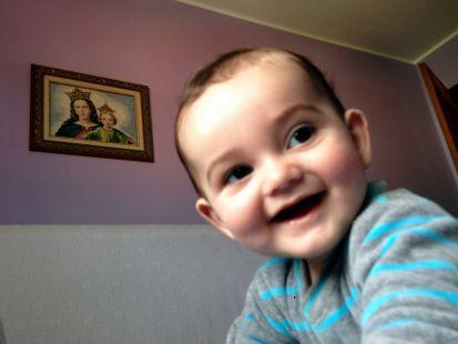 Felices 7 meses, Emilio.