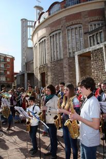 Concierto Flashmob de los alumnos conservatorio de Torrelavega