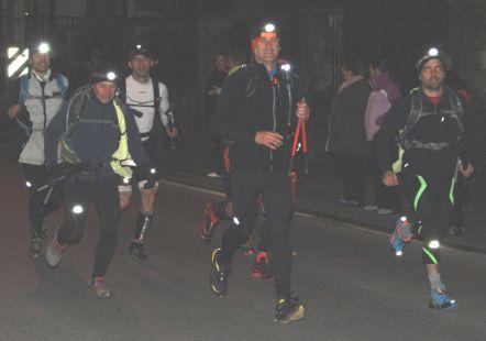 Iniciando la Ultramaratón del Soplao 2013