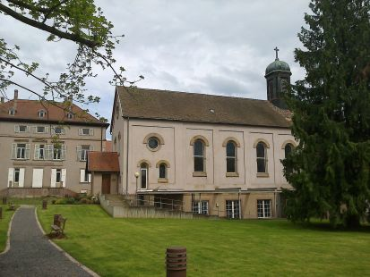 Hergersheim, antiguo convento cisterciense