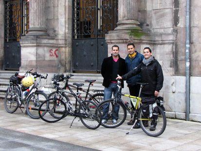 Masa critica Torrelavega con DiolEco y Cantabria con bici