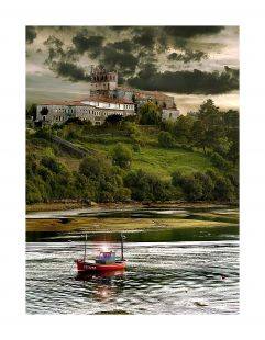 San Vicente con barco