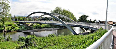 Puente sobre el Saja en La Veguilla