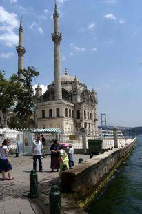 Mezquita en el Bosforo