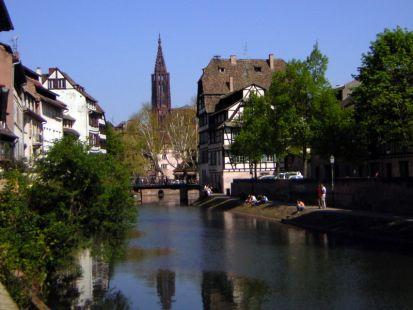 Pont du Faisan et Catedrale