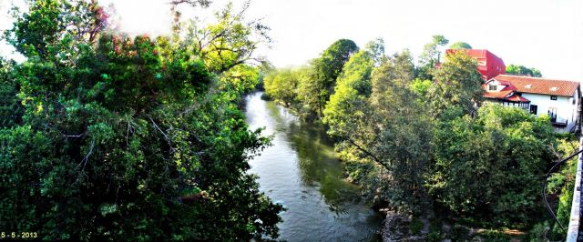 Rio Saja, Puente de San Miguel
