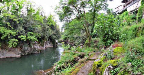 Rio Pas en Puente Viesgo