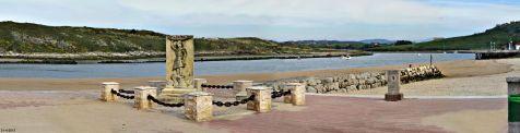 Suances, Monumento a la sardinera
