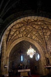 Interior iglesia de Pumalverde
