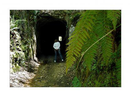 Tuneles de la mina de Udias