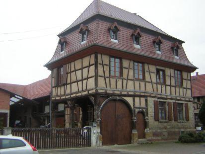 Granja  alsaciana en Weyersheim