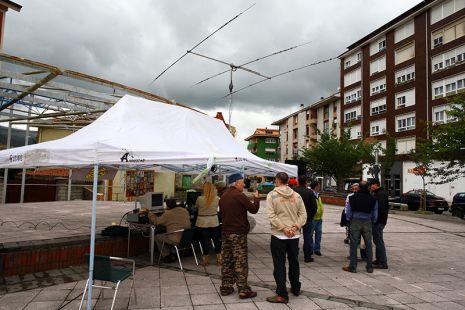 ED1RLE, QSL especial fiestas de San Juan, de Los Corrales
