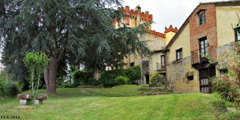 Castillo de Villegas en Cóbreces