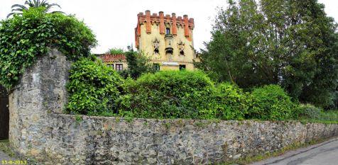 Castillo de Villegas en Cobreces