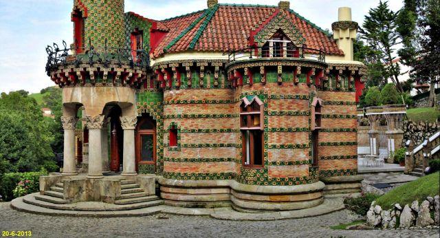 Capricho de Gaudí en Comillas