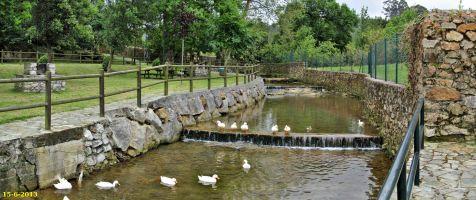 Novales. Arroyo San Miguel y parque