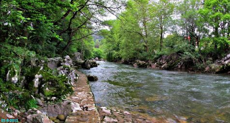 Rio Pas  alrededores de Puente Viesgo