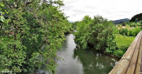 BEl Pas bajo la pasarela en Puente Viesgo