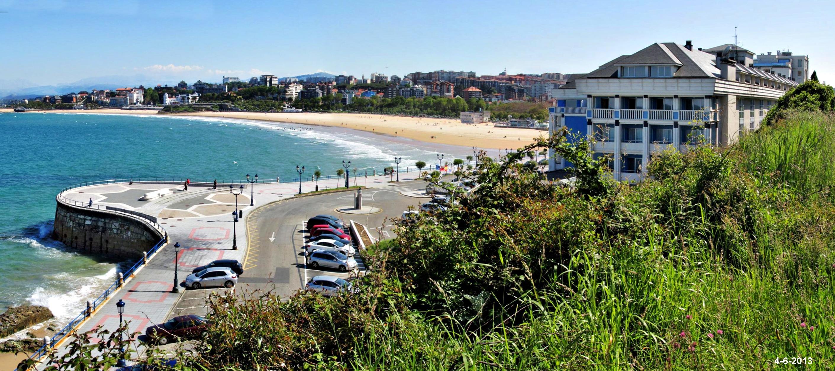 El sardinero y el restaurante el chiqui fotos de playas de cantabria - El chiqui santander ...