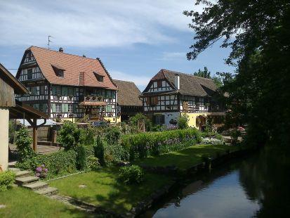 Wolfisheim, granja Wagner junto al Herren Wasser