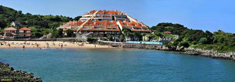 Playa en Isla
