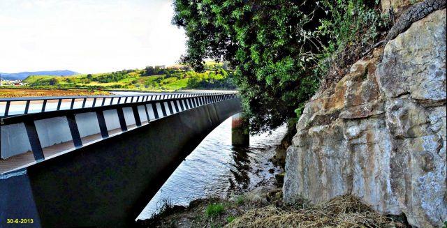 Suances, pasarela Ria San Martín