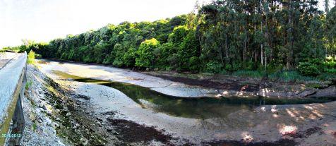 Ria de San Martín, marea baja