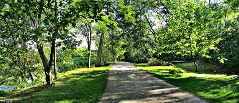 Parque de La Viesca, atardecer