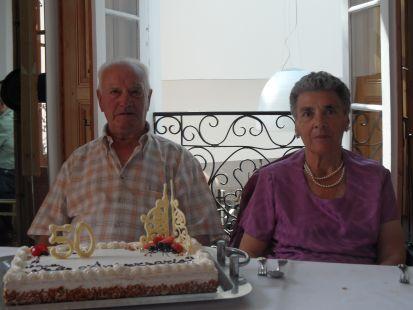 Bodas de Oro de Manuel y María