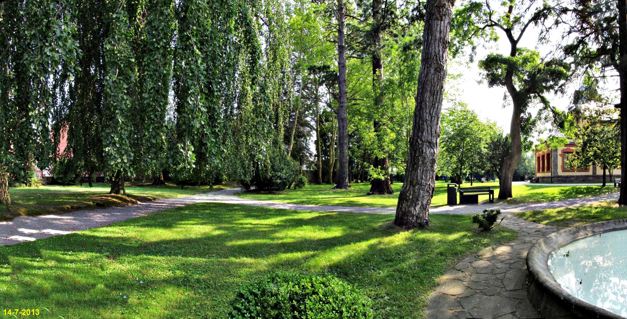 Cabez n de la sal fotos de parques y jardines for Parques y jardines fotos