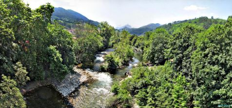 El rio Sella en Cangas de On�s