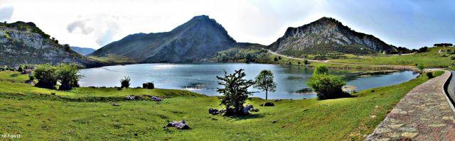 Atardecer en el Lago Enol, Covadonga