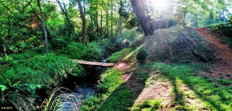 Rio de bajada de la mina en Torrelavega
